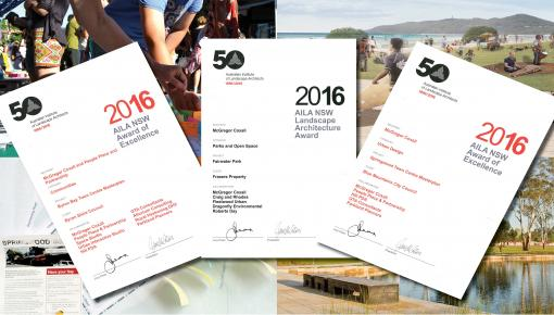 2016 NSW AILA Awards