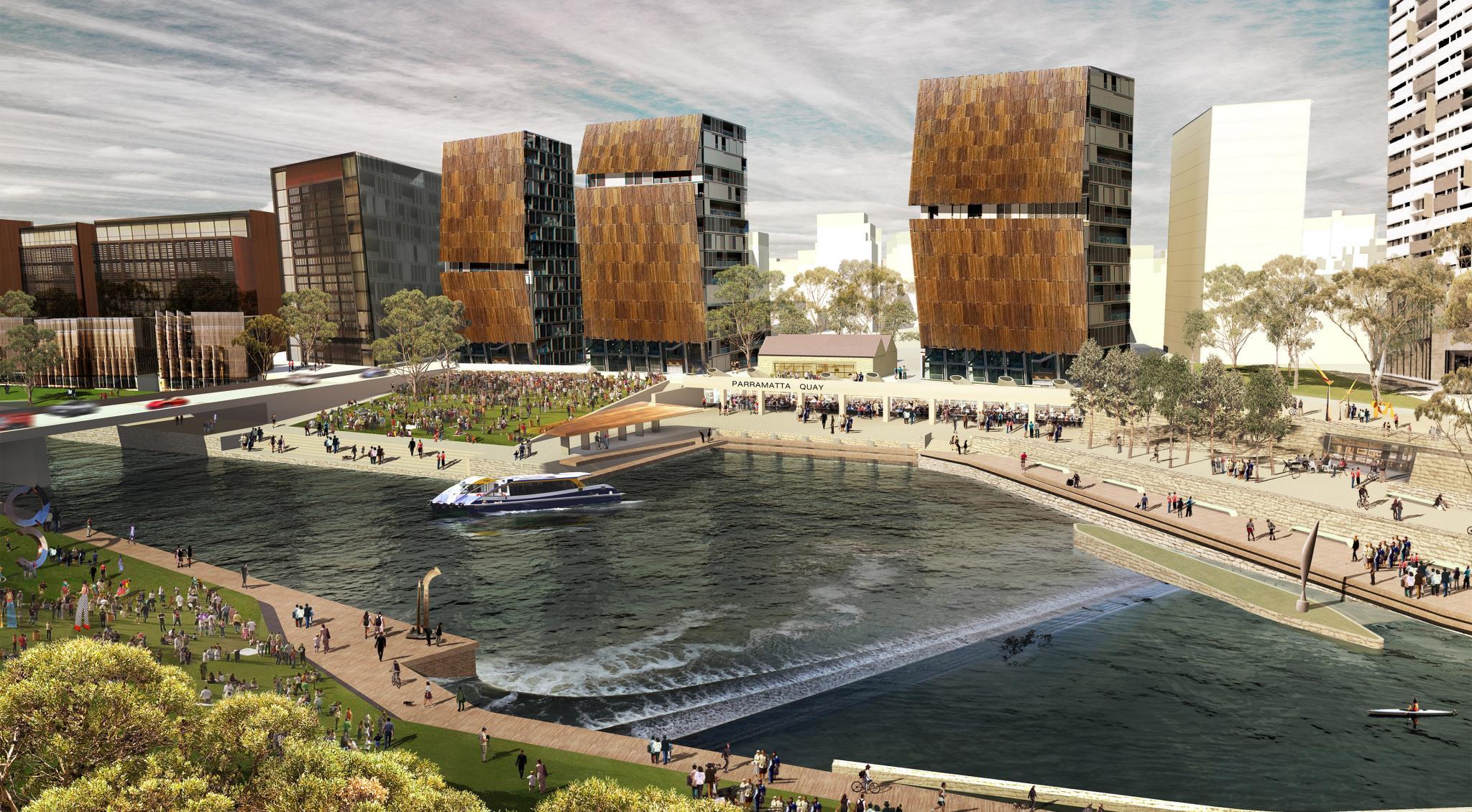 Parramatta Quay Wins Australia Award for Urban Design