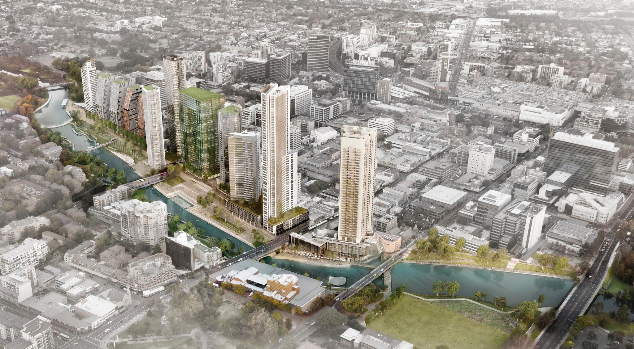 Green light for Parramatta City River Strategy