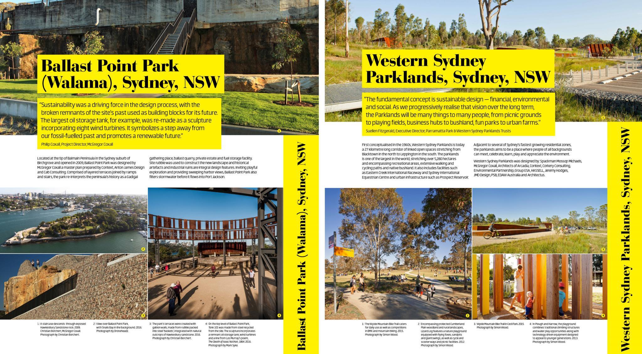 Parks Changing Australia