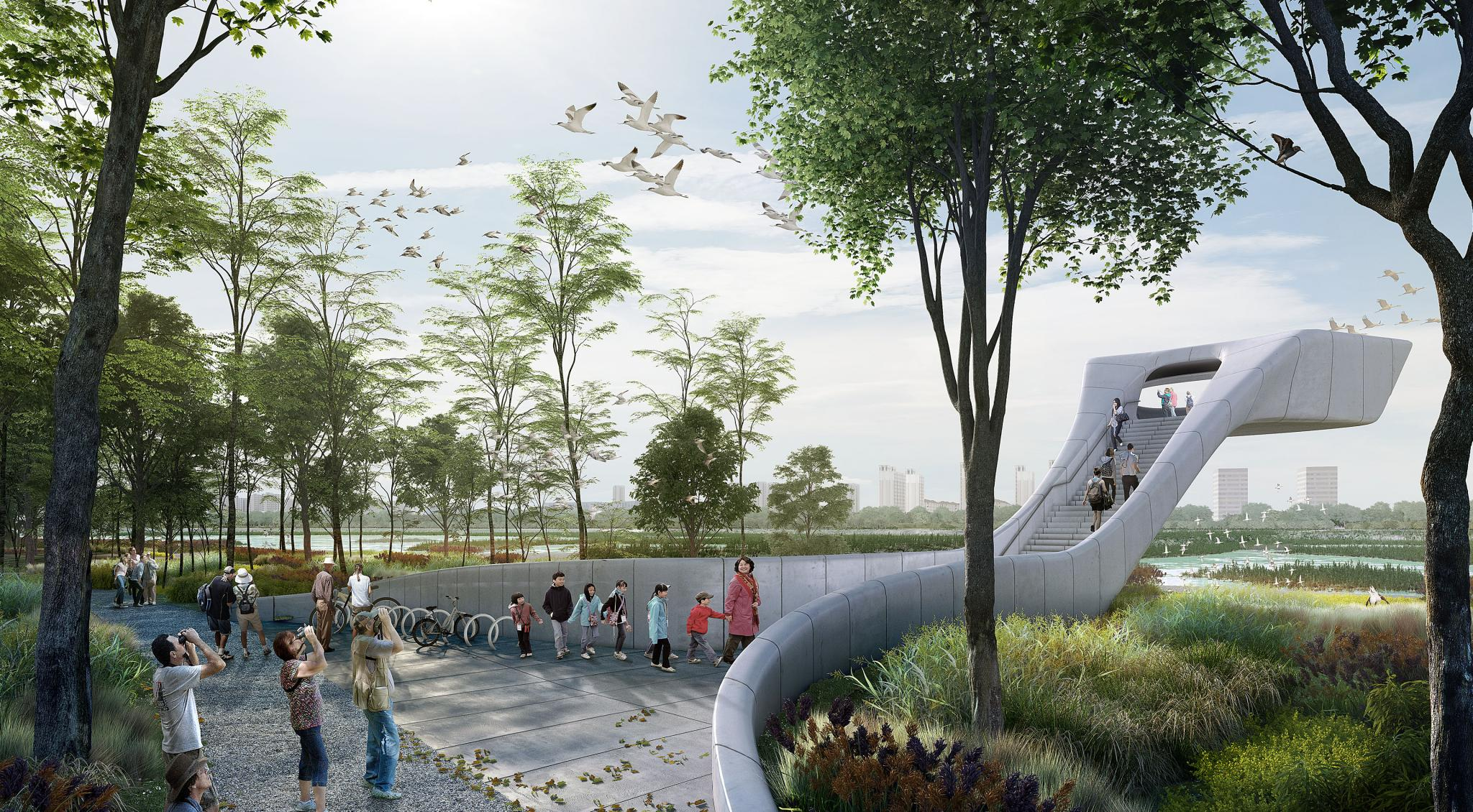 'Bird Airport' Competition Win, China