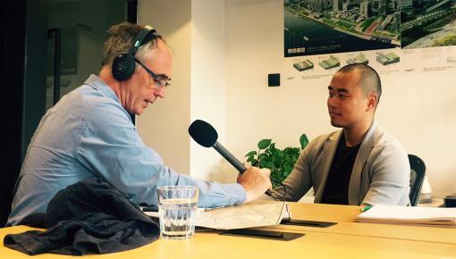 BBC INTERVIEWS SHANGHAI STUDIO