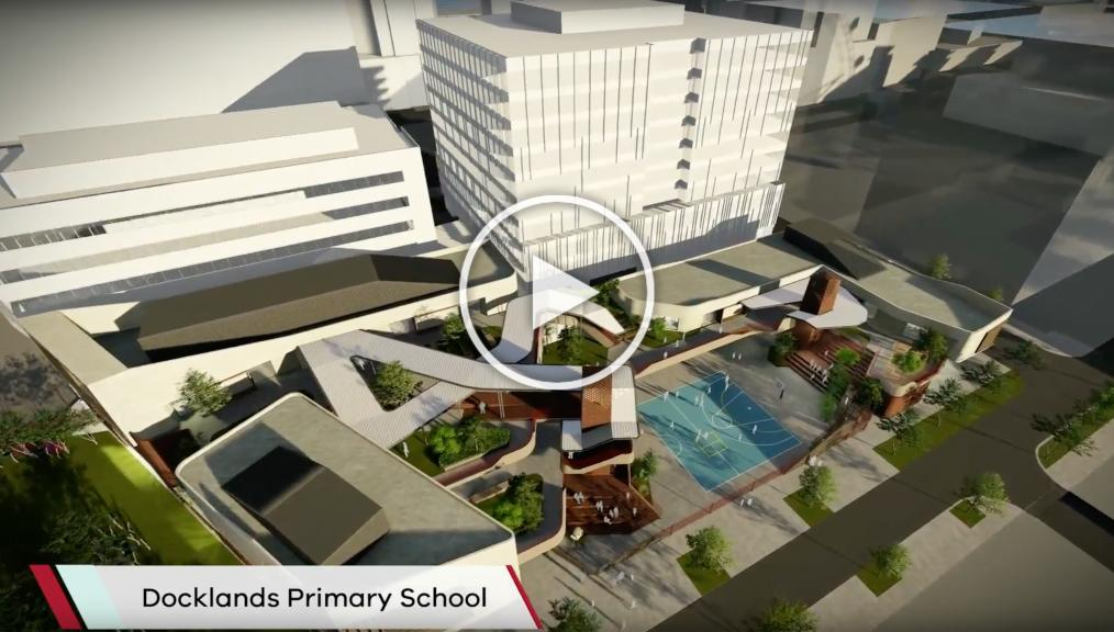 DOCKLANDS PRIMARY CONCEPT UNVEILED