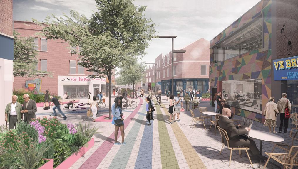BRISTOL'S EAST STREET APPROVED FOR TRANSFORMATION