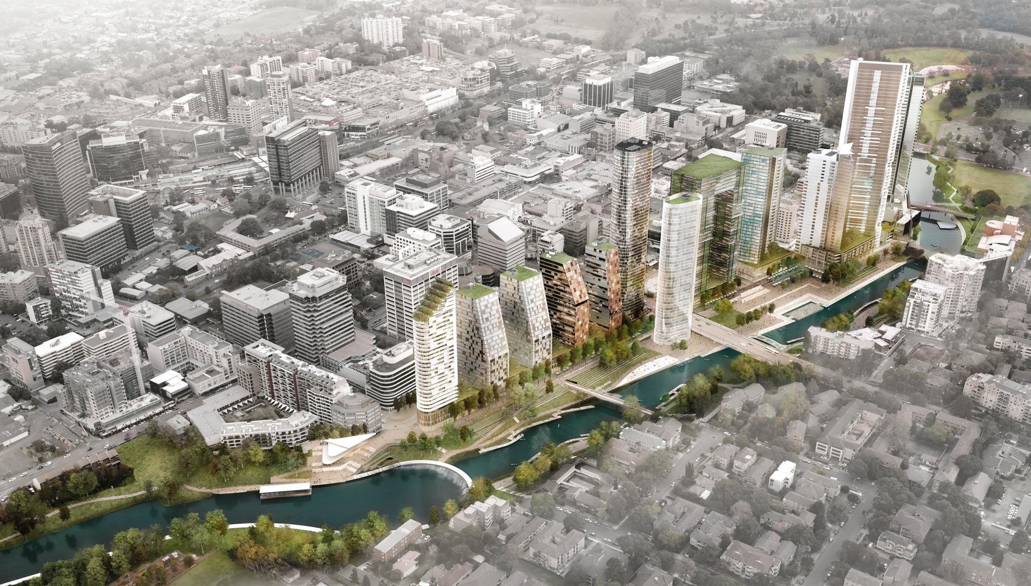 Parramatta City River Plan