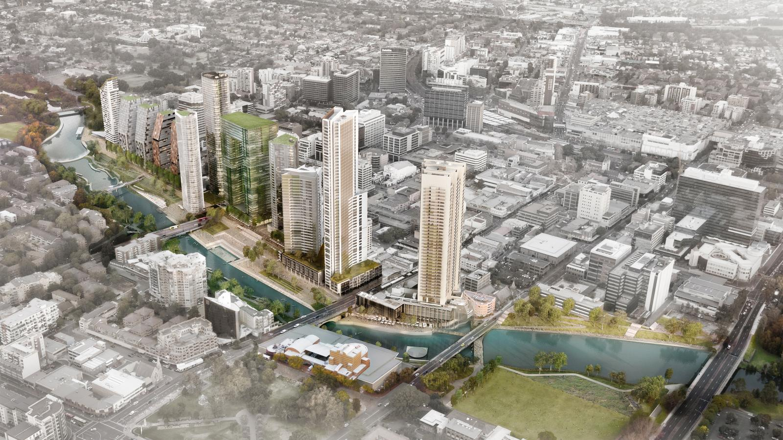 Parramatta City River Plan  Photo 2