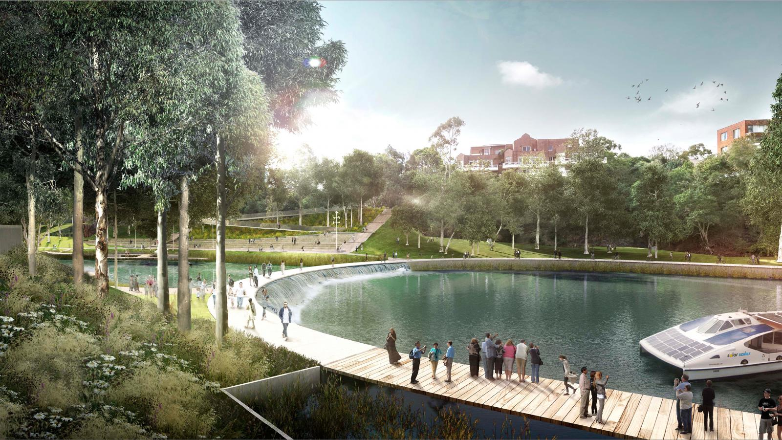 Parramatta City River Plan  Photo 6