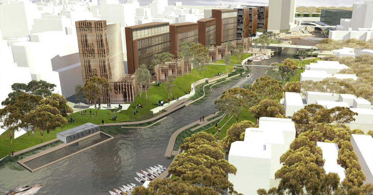 Parramatta River Vision Plan Projects Mcgregor Coxall